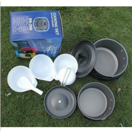 Outdoor Cooking Set | Retkikokkaussetti, 2-3hlö