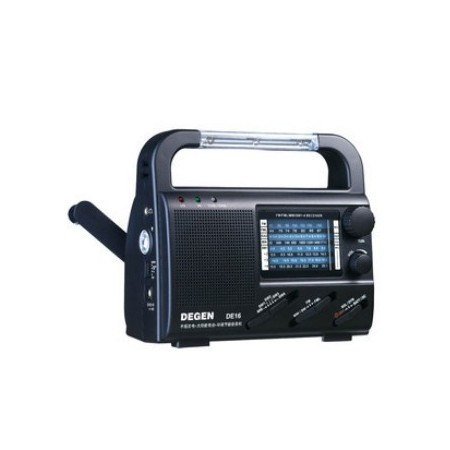 Radio Multi-funcional Recarga Manual