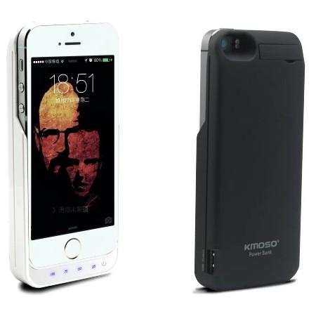 iPhone 5/5S akku-suojakuori 4000mAh