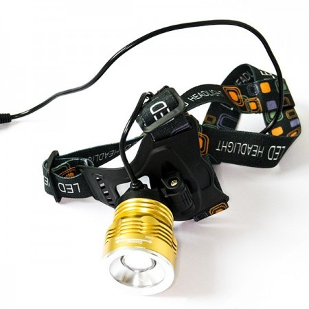 Arctic Mate Golden Blue pannlampa med zoom 380lm