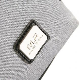 MARK RYDEN ryggsäck med dragkedja på sidan + USB port e