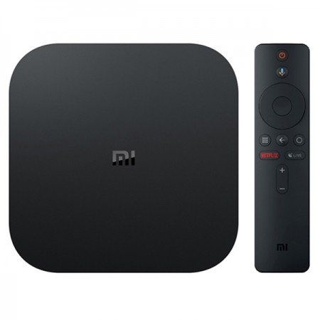 Xiaomi Mi Box S Android TV 4K Ultra HD + HDR -mediatoistin