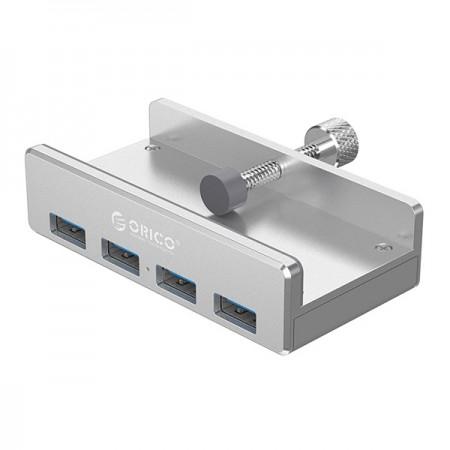Orico USB 3.0 -jakaja 4 portilla+kiinnitysruuvilla