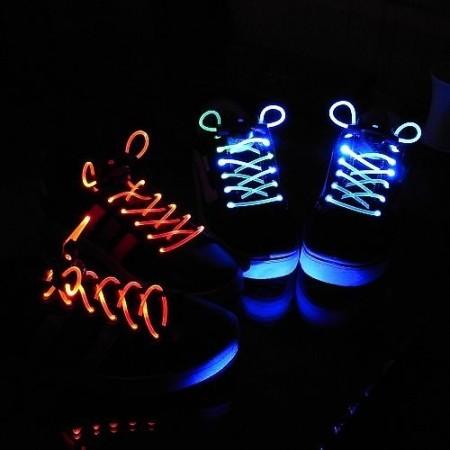 Trenzas para Zapatos LED