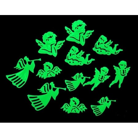 Glow in the dark stickers | Angels