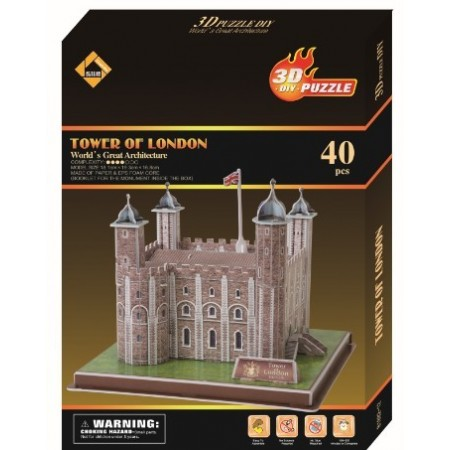 Tower of London 3D palapeli