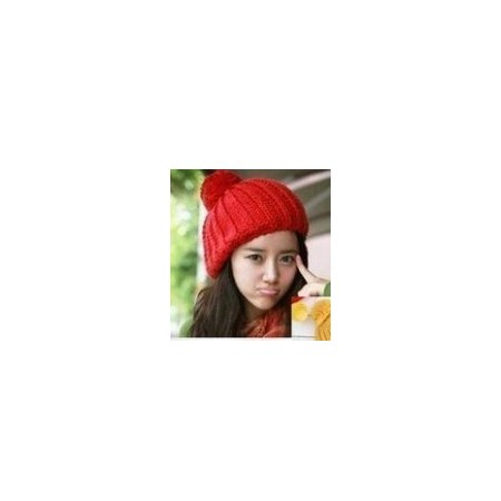 Pinneapple Hat | Gorro de Lana Rojo