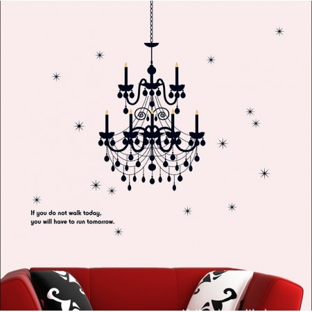 Wall stickers | Chandelier -seinätarra