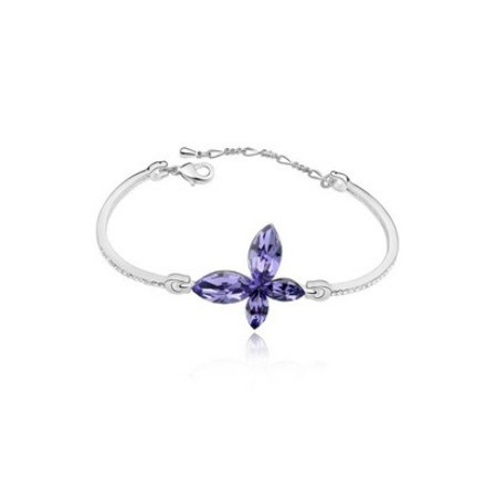 Mariposa Simple | Brazalete Cristal