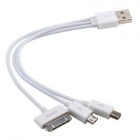 3 in 1 USB cable 20cm