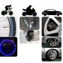 Tuning LED-ljus till bildäcken