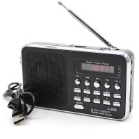 Mini Portable Radio with 1.7inch Screen