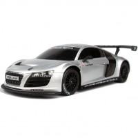 Urheiluautojen kuninkaan Audi R8 MLS:n aito radio-ohjattava pienoismalli kulkee kuin salama! Tämä peli tuo vauhdintuntua koko perheelle!