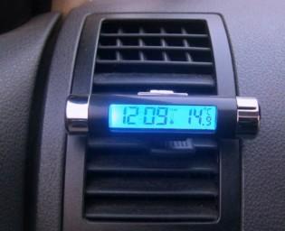 Kello lämpömittari Classic