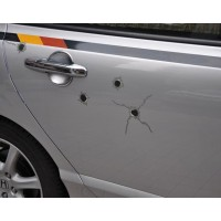 Car decoration  Fake bullet holes sticker