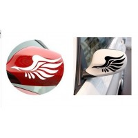 Car sticker  Angel wings shape