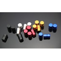 Aluminum tire valve cap  4 pcs set