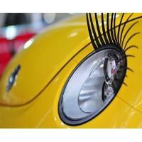 Dekorera din bil och ge den ögonfransar!