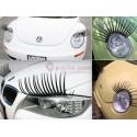 3D Stickers ögonfransar till bilen
