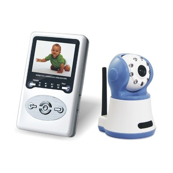 wireless baby monitor itkuh lytin kameralla e. Black Bedroom Furniture Sets. Home Design Ideas