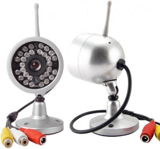 4x valvontakamera & vastaanotin yökuvauksella