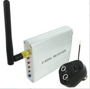 2.4 GHz Wireless Camera - Lähetin ja vastaanotin kameralle