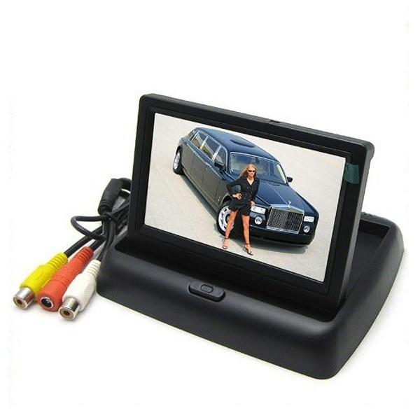 "LCD-näyttö autoon 4.3"""