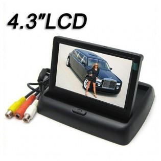 LCD-näyttö autoon 4.3