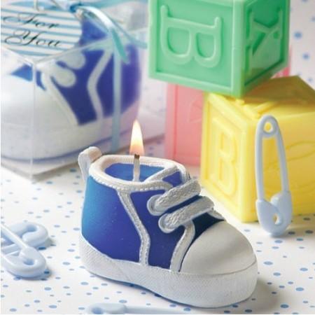 Baby Shoe Candle - Vauvan kenkä kynttilä