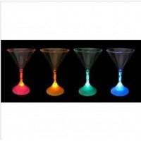 Glow champagne glass  Short glass