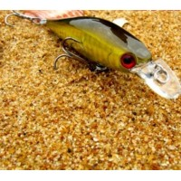 Trulinoya Bait  10g gold-colored wobbler