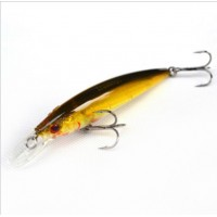Trulinoya Minnow  13g gold black wobbler