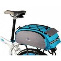 Multi-function bike pack  U shape dual open zipper