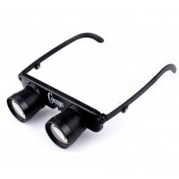 Glass shape telescope  Magnification 1 to 3 adjustable