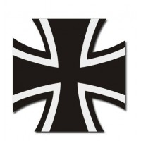 Car sticker  Cross