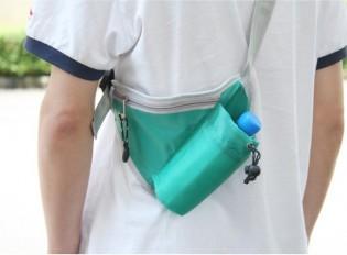 Juomapullolaukku ulkoiluun - Sininen