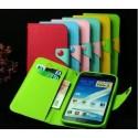 Samsung Galaxy Note 2 flip-cover suojakuori