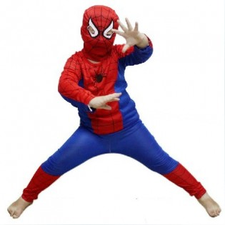 Hämähäkkimies-asu lapsille - L