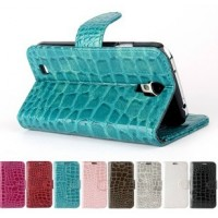 Samsung Galaxy S4 flip-cover, snake leather pattern