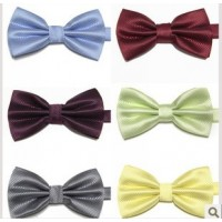 Multi Colorered Patterned Bow Ties