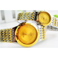 Royal Gold Couple Watches