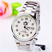 Baidun Men White Wrist Watch