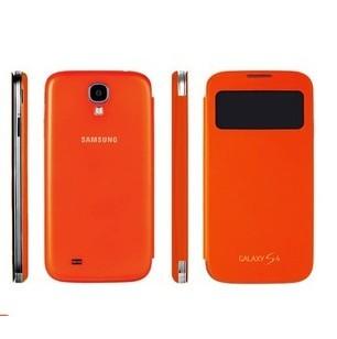 Samsung Galaxy S4 flip-cover med fönster
