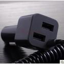 Autolaturi -MicroUSB 3.0 + 2-USB-paikkaa