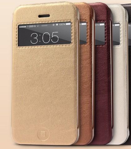 iPhone 5/5S Flip-cover med fönster