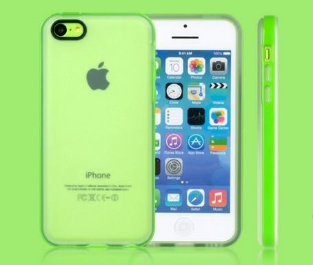 iPhone 5C Genomskinligt plastskal
