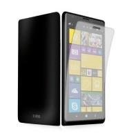 Näytönsuojakalvo Nokia Lumia 1520 matkapuhelimelle. Läpinäkyvän suojakalvon ansiosta kännykkäsi näyttö pysyy niin puhtaana kuin narmuttamattomanakin. Suojakalvo on helppo asentaa ja poistaa näytöstä aina tarpeen tullen.
