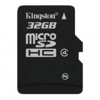 Kingston MicroSDHC 32G minneskort class 4