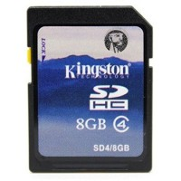 Kingston SD/SDHC 8Gb -memory card Class 4