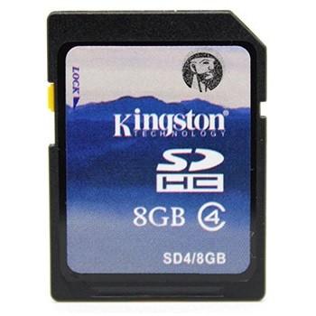 Kingston SDHC 8Gt -muistikortti Class 4